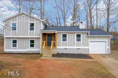 Marietta Single Family Home Under Contract: 2910 Caller Ct