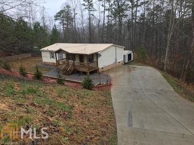 Dawsonville Single Family Home New: 173 Maple Ridge Lake Drive