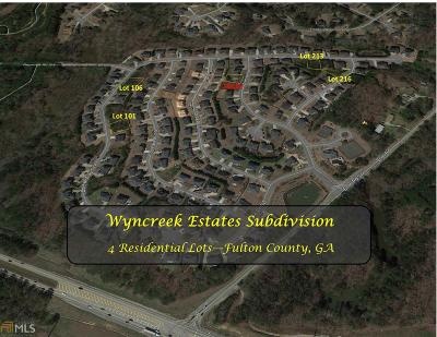 Fulton County Residential Lots & Land New: 5413 SW Spelman Dr #Lot 216