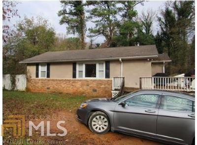 Cobb County Single Family Home Under Contract: 562 South Gordon Rd