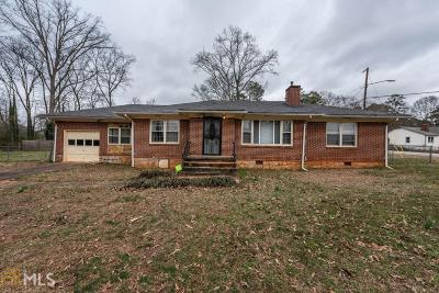 Stone Mountain Single Family Home New: 4440 Redan Rd