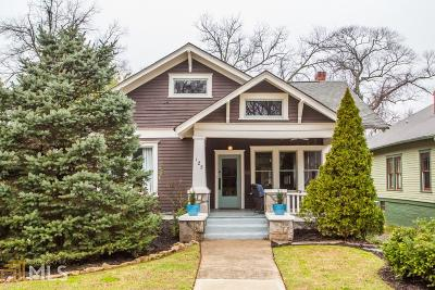 Decatur Single Family Home Under Contract: 125 Madison Ave