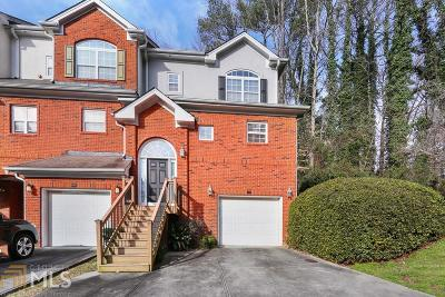 Dunwoody Condo/Townhouse New: 1590 Chateau Club