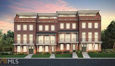 Marietta Condo/Townhouse New: 178 Cole St #36