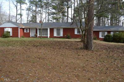 Clayton County Single Family Home New: 10084 Fitzgerald Rd