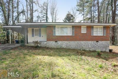 Atlanta Single Family Home New: 3660 Hill Acres Road SW