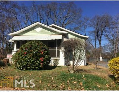 East Point Single Family Home New: 1397 Gus Thornhill Jr Dr
