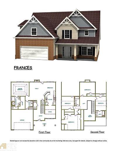 McDonough Single Family Home New: 1643 Elliott Road Lot 4