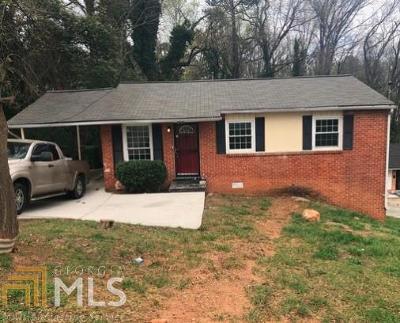 Atlanta Single Family Home New: 3597 Fairlane Dr. NW