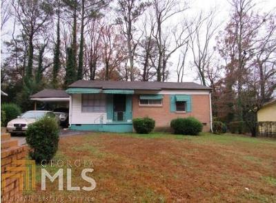 Atlanta Single Family Home New: 3700 Venus Place NW
