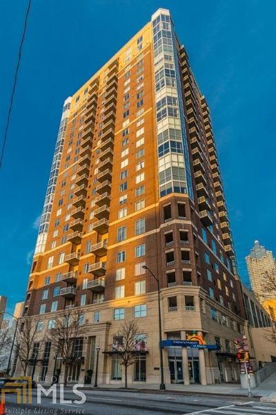 Museum Tower Condo/Townhouse Under Contract: 285 Centennial Olympic Pk Dr #2106