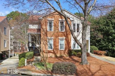 Peachtree Corners Condo/Townhouse Under Contract: 6504 Deerings Ln