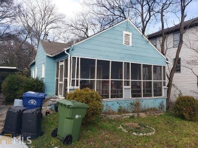 Atlanta Single Family Home New: 1717 Defoor Avenue NW