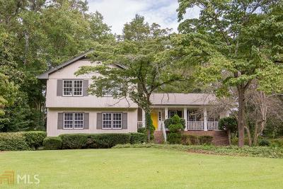 Roswell Single Family Home New: 250 Pinebrook Way