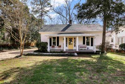 Newnan Single Family Home New: 113 East Broad Street