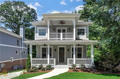 Brookhaven Single Family Home New: 1076 Antioch Drive NE