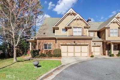 Johns Creek Condo/Townhouse For Sale: 4614 Fountain Bleau Ct