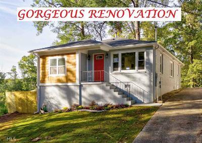 Atlanta Single Family Home New: 1017 Margaret Pl