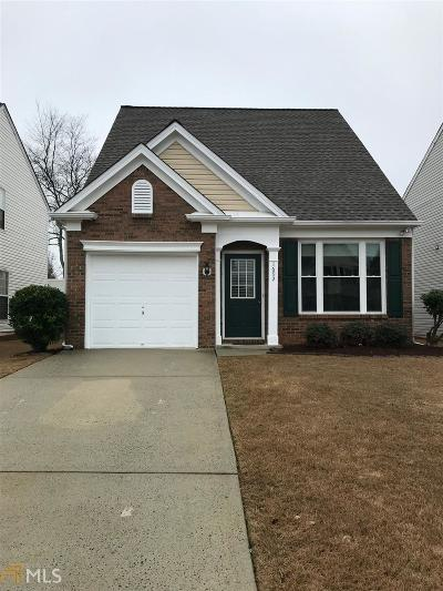 Kennesaw Single Family Home New: 1692 Woodsford Rd