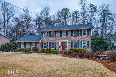 Dunwoody Single Family Home New: 5680 Bend Creek Rd