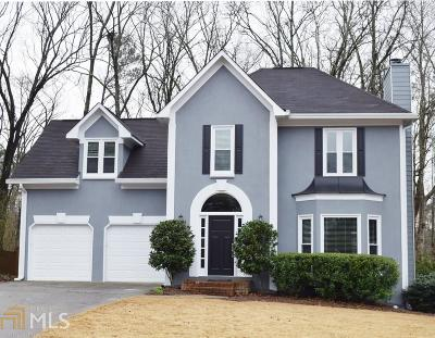 Kennesaw Single Family Home New: 609 Spring Ridge Drive NW
