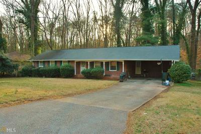 College Park Single Family Home New: 4485 Greensprings Rd