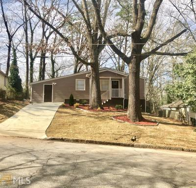 East Point Single Family Home New: 3095 McKenzie Rd