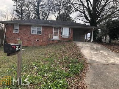 Forest Park Single Family Home New: 459 Hilltop Dr #Lot 9