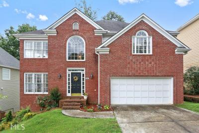 Alpharetta Single Family Home New: 380 Landing Entry