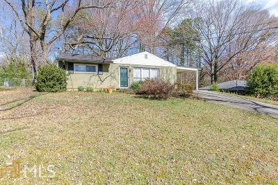 Decatur Single Family Home New: 3070 Brook Dr