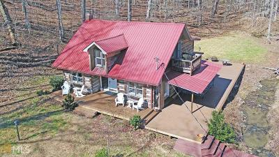 Toccoa Single Family Home Under Contract: 1450 Camp Mikell Rd