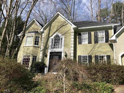 Alpharetta Single Family Home New: 615 Wintergate