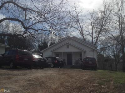 Haddock, Milledgeville, Sparta Single Family Home Under Contract: 501 E Montgomery St