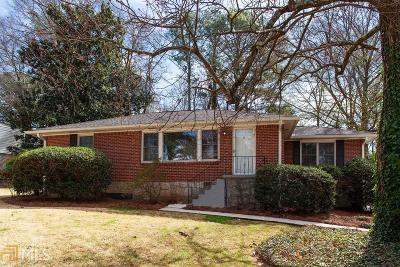 Decatur Single Family Home New: 2967 Hollywood Dr