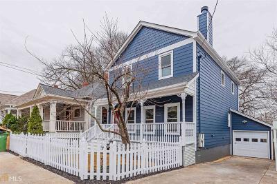 Atlanta Single Family Home New: 274 NE Josephine St