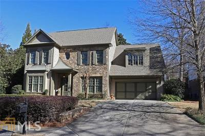 Smyrna Single Family Home For Sale: 3001 Westwood Cir