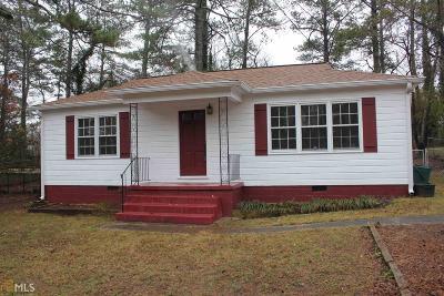 Marietta Single Family Home New: 1210 Barnes Mill Rd