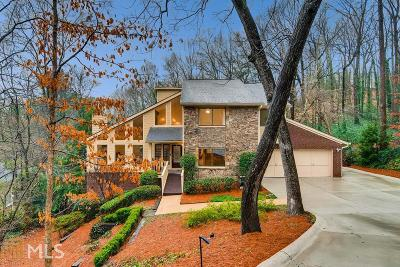 Sandy Springs Single Family Home New: 620 Idlewood Dr
