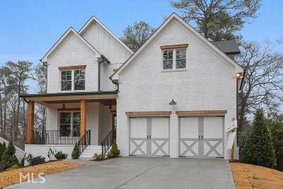 Brookhaven Single Family Home New: 2743 N Thompson Rd