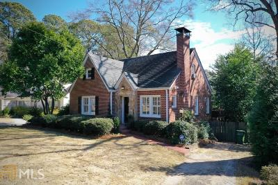Atlanta Single Family Home New: 2859 Elliott Cir