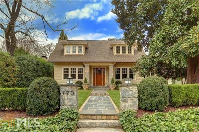 Atlanta Single Family Home New: 190 Lakeview Ave