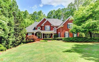 Suwanee Single Family Home New: 7040 Laurel Oak