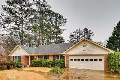 Marietta Single Family Home New: 455 Lees Trce