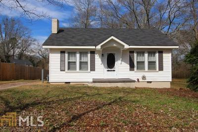 Villa Rica Single Family Home New: 249 S Carroll Rd