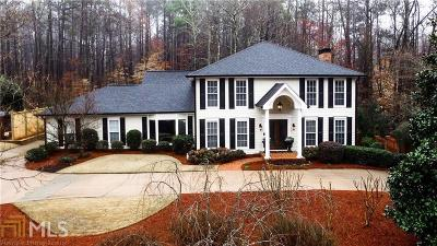 Roswell Single Family Home Under Contract: 855 Brookfield Pkwy