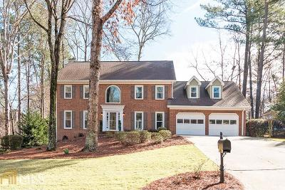 Alpharetta Single Family Home New: 125 Shadow Springs Dr