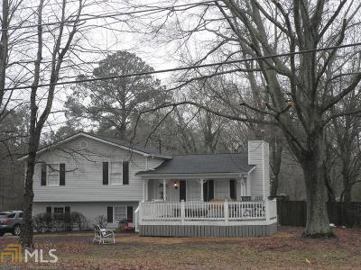 Acworth Single Family Home New: 3007 NW Mars Hill Church Rd