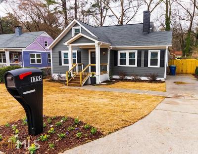 Atlanta Single Family Home New: 1795 Alvarado Ter