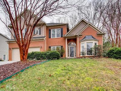 Kennesaw Single Family Home Under Contract: 3837 Westwick