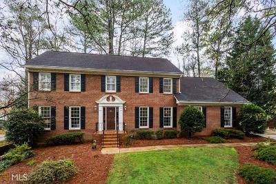 Peachtree Corners Single Family Home New: 6716 Winters Hill Court